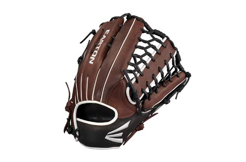 EASTON EL JEFE Slowpitch Softball Glove Series | 2021 | Diamond Pro Steer Leather | Oiled Classic Cowhide Palm + Lining For Comfort + Feel | Softball Design + Increased Pocket Depth | Rawhide Laces