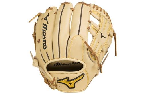 "Mizuno GMP2-400R Mizuno Pro Infield Baseball Glove, Tan, 11.5"", Right Hand Throw"