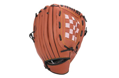 Unihoh Baseball Glove Softball Gloves – Right Hand Throw – Adult and Youth Sizes – 12,5in Size Mitts — Easy Break in Baseball Mitt