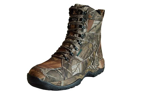 R RUNFUN Men's Lightweight Waterproof Hunting Boots
