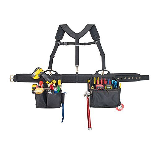 CLC Custom Leathercraft 1608 Electrician's Comfort Lift Combo Tool Belt, 28 Pocket TOP 10 BEST ELECTRICIAN TOOL BELTS IN 2020 REVIEWS
