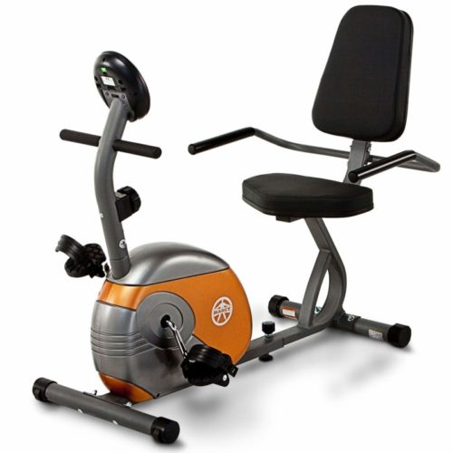 Marcy Recumbent Exercise Bike with Resistance ME-709 TOP 10 BEST RECUMBENT EXERCISE BIKES IN 2021 REVIEWS