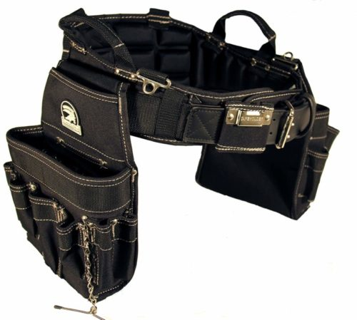 Gatorback B240 Electrician's Combo with Pro-Comfort Back Support Belt. Heavy Duty Ventilated Work Belt (Large 36-40 inches)