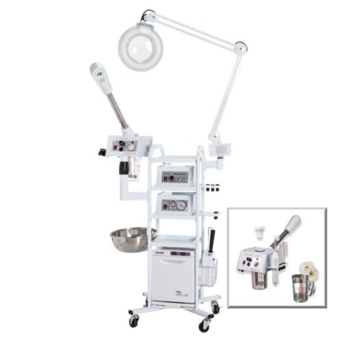 Microdermabrasion Machine and Facial Steamer 11-in-1 T3, Best Selling Multi-use Machine with Diamond Tip on a Rolling Cart - eMark Beauty TOP 10 BEST FACIAL MACHINES IN 2020 REVIEWS