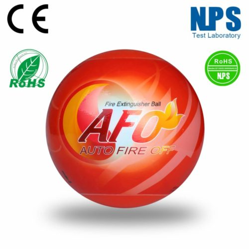 AFO Fireball Automatic Fire Extinguisher Ball HY 0500 (5 Pieces Set, Small)