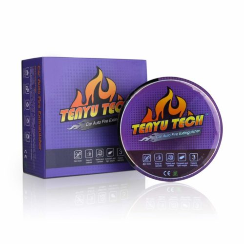 TENYU Car, Electric or Circuit Box Automatic Self-Activation Fire Extinguisher Fire Suppression Device (Purple)