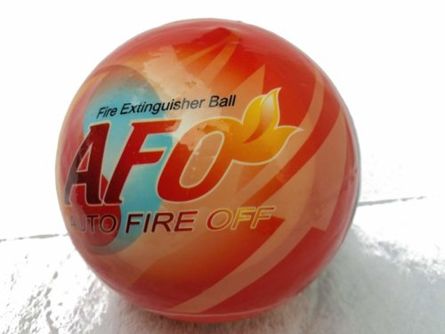 AFO Fire Extinguisher Ball, self-Activation, AUTO FIRE Off Device