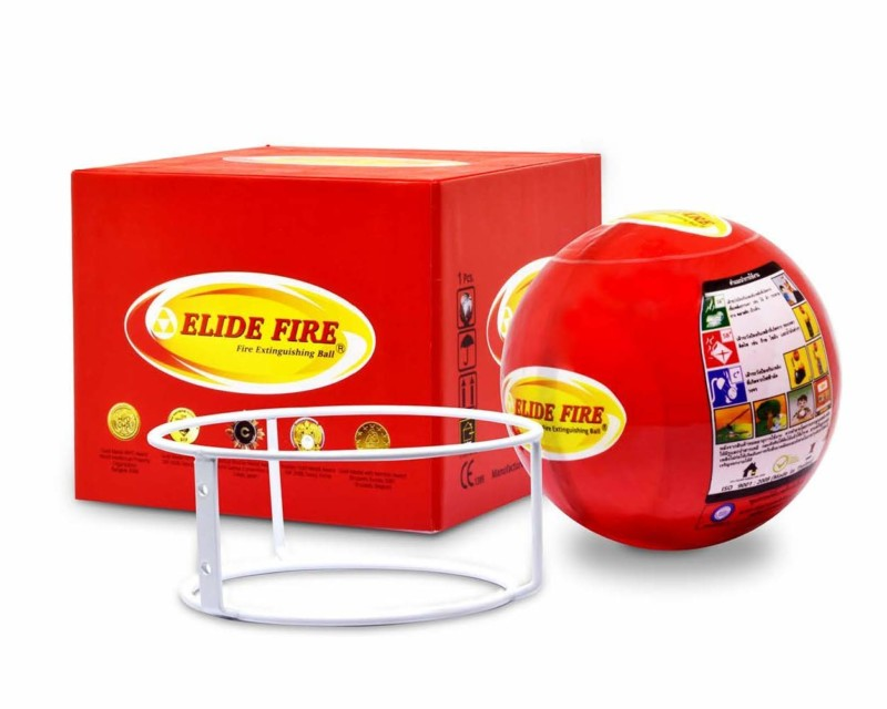 Elide Fire Ball, Self Activation Fire Extinguisher, Fire Safety Product, 5 Year warranty. The only patented and insured genuine extinguishing ball in the USA. Beware of counterfeit products.