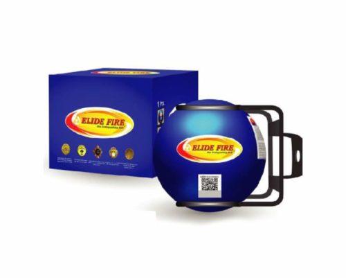 "Blue Mini ELIDE FIRE Extinguishing Ball Automatic Surveillance Firefighting 4"""