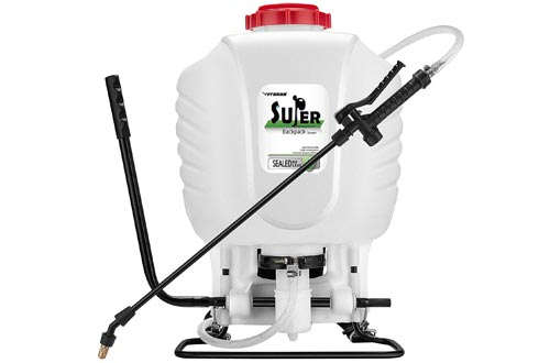 VIVOSUN 4 Gallon Backpack Sprayer Manual Pump Sprayer