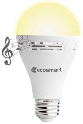 Ecosmart Bluetooth Light Bulb Speakers