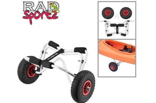 RAD Sportz Kayak Trolley Cart with Pneumatic Tires