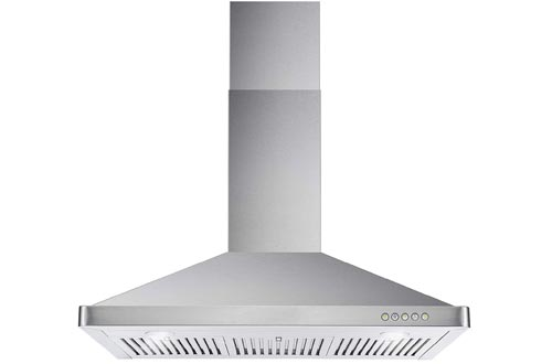 Cosmo 63190 36-in Wall-Mount Range Hood 760-CFM