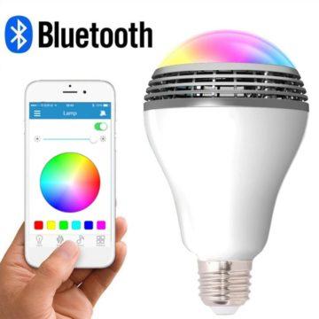 LONGWEN Bluetooth Light Bulb Speakers