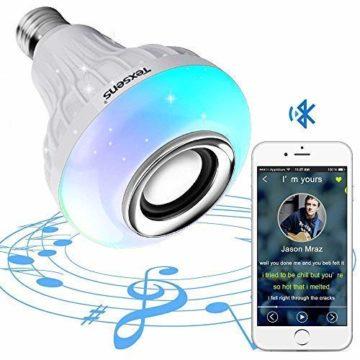 Texsens Bluetooth Light Bulb Speakers