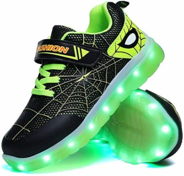 YUNICUS Light Up Shoes for Kids