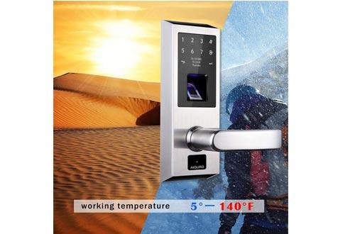 AIGURD Biometric Smart Fingerprint Door Lock Open Modes