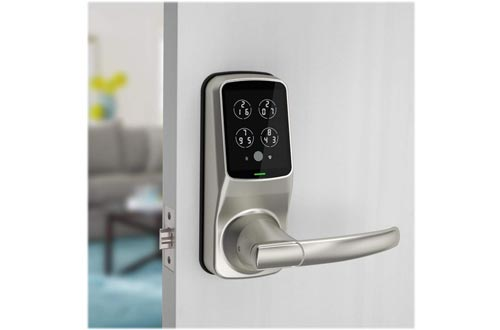Bluetooth Fingerprint WiFi Keyless Entry Smart Door Lock