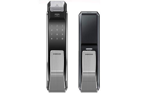 Push Pull Biometric Touchscreen Digital Door Lock