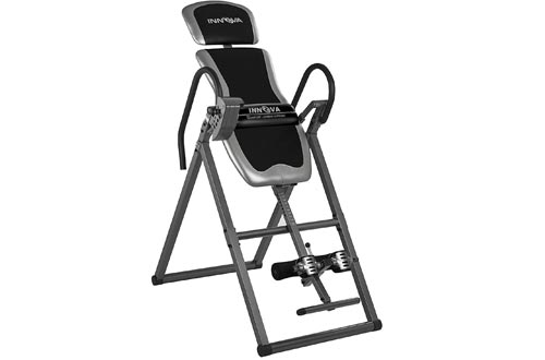 Innova ITX9600A Heavy Duty Inversion Tables with Adjustable Headrest and Protective Cover, One Size