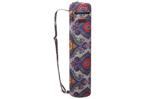 Fremous Yoga Mat Bag,Full-Zip Exercise Yoga Mat Carry Bag for Women and Men