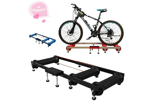 MAODATOU Bike Trainer Bicycle Roller Riding Platform Roller Training Table Spinning Bicycle Indoor Exercise Platform Road Bike for Road Bike