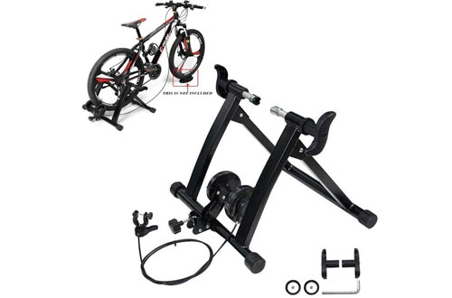 KEENAXIS Portable Bike Trainer Stands Indoor Bicycle Exercise