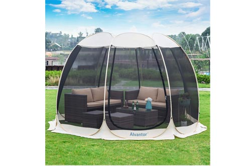 Alvantor Screen House Room Outdoor Camping Tent Canopy Gazebos 8-20 Person for Patios,...