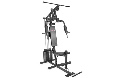 XtremepowerUS Multifunction Home Gyms Fitness Station Workout Machine, w/ 100 Lbs Weight