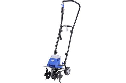 """AAVIX AGT307 10 Amp Electric Tiller/Cultivator, 13"""", Black/Blue"""