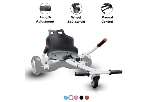 Hishine Hover Kart Hoverboard Seat Attachment