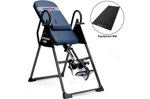 IRONMAN Gravity Highest Weight Capacity Inversion Tables with Optional No Pinch AIRSOFT Ankle Holder