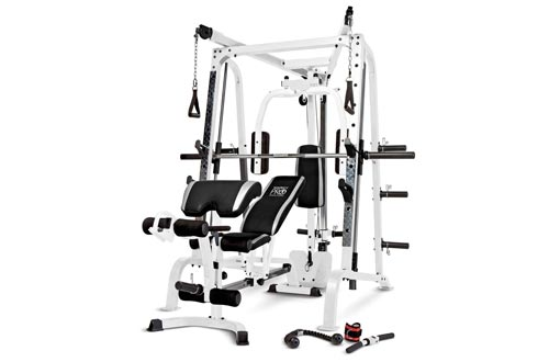 Marcy Smith Cage Workout Machine Total Body Training Home Gyms System with Linear Bearing