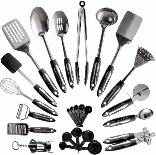 25-Piece Stainless Steel