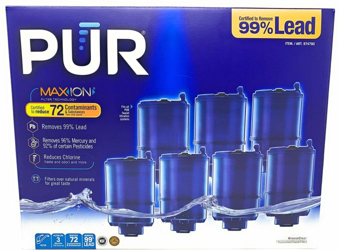 3- Stage Faucet Mount Filters