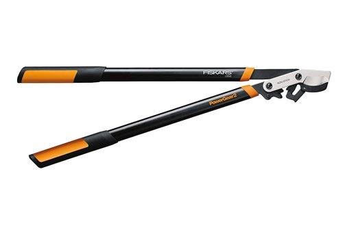 Fiskars 394801-1003 PowerGear2 Bypass Lopper, 32 Inch, Black/Orange