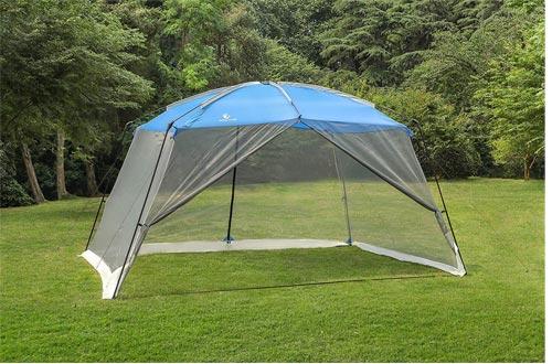 ALPHA CAMP Screen House Tent Easy Setup Canopy - 13'X9'