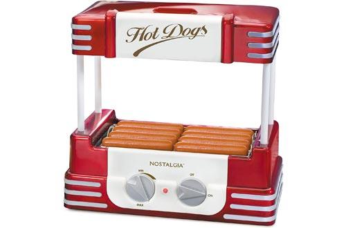 Nostalgia RHD800 Hot Dog Rollers and Bun Warmer