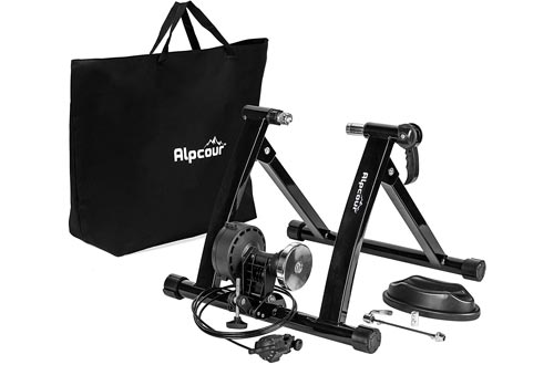 Alpcour Bike Trainer Stands – Portable Stainless Steel