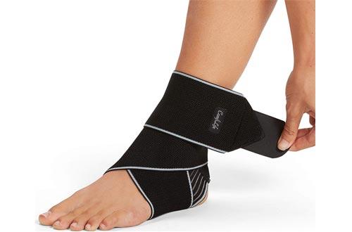 ComfiLife Ankle Brace for Men & Women – Adjustable Compression Ankle Support Wrap