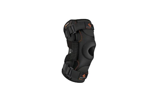 Hinged Knee Brace: Shock Doctor Maximum Support Compression Knee Brace - For ACL/PCL Injuries, Patella Support, Sprains, Hypertension and More for Men and Women.