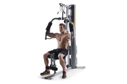 Gold's Gym XRS 50 Home Gyms with High and Low Pulley System