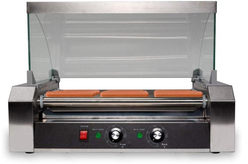 SYBO ET-R2-7 Electric 7 Hot dog rollers, one size, silver