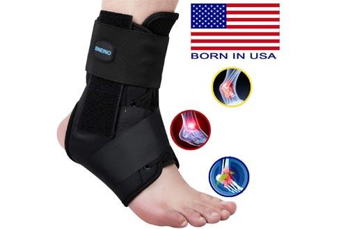SNEINO Ankle Brace,Lace Up Ankle Brace for Women,
