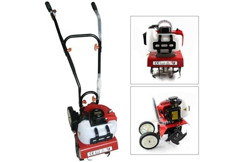 YIWON Air-Cooled 52cc Petrol Commercial Garden Tillers