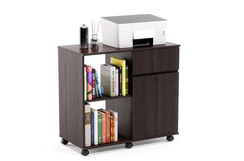 Bestier Printer Stand with Storage Office Cabinet