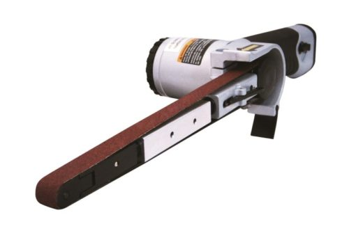 """Astro Pneumatic Tool 3037 Air Belt Sander (1/2"""" x 18"""") with 3pc Belts (#36, #40 & #60)"""