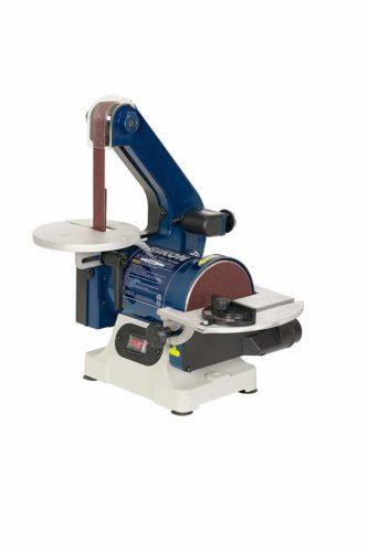"RIKON Power Tools 50-151 Belt with 5"" Disc Sander, 1"" x 30"", Blue"