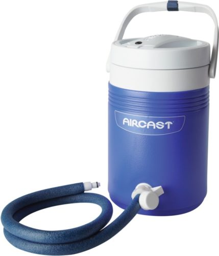 Aircast DonJoy Cryo/Cuff Cold Therapy: Non-Motorized (Gravity-Fed) Cooler with Tube Assembly