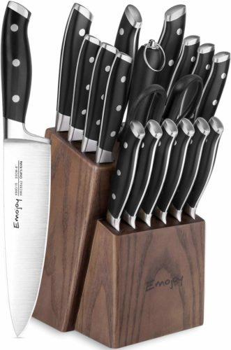 Emojoy Knife Set, 18-Piece
